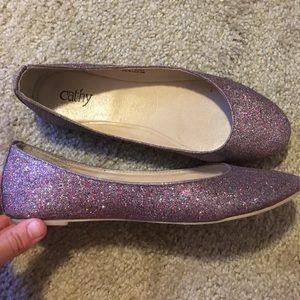 Cathy Jean size 6 1/2 sparkle flats